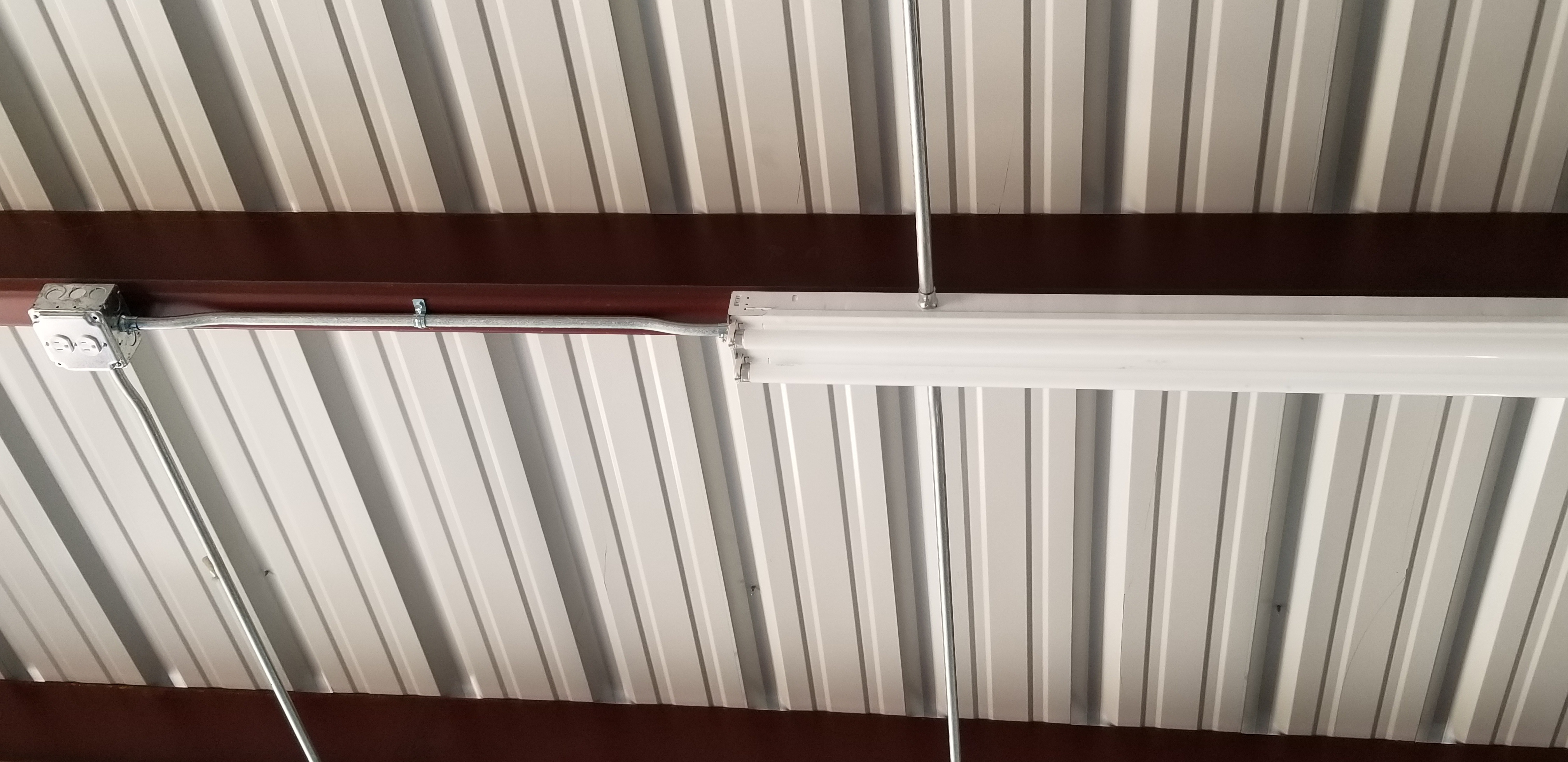 metal building electrical wiring electrician floresville la rh bowmanelectricsa com install steel building wiring a metal frame building
