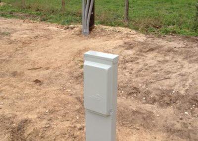 RV Park Pedestal Panel
