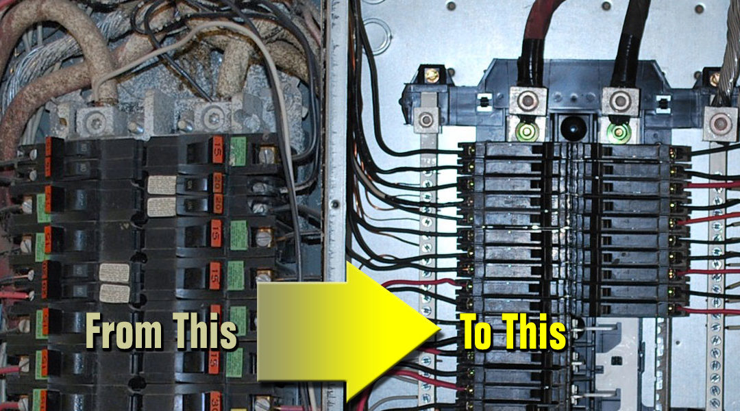 Maintenance: Electrical Service Panel - Electrician Floresville, La on replace electrical switch, replace generator panel, moving electrical panel, replace electrical panel breaker,